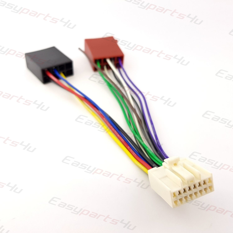 ISO autoradio adaptador Panasonic CQ-d CQ-dp CQ-R CQ-RD
