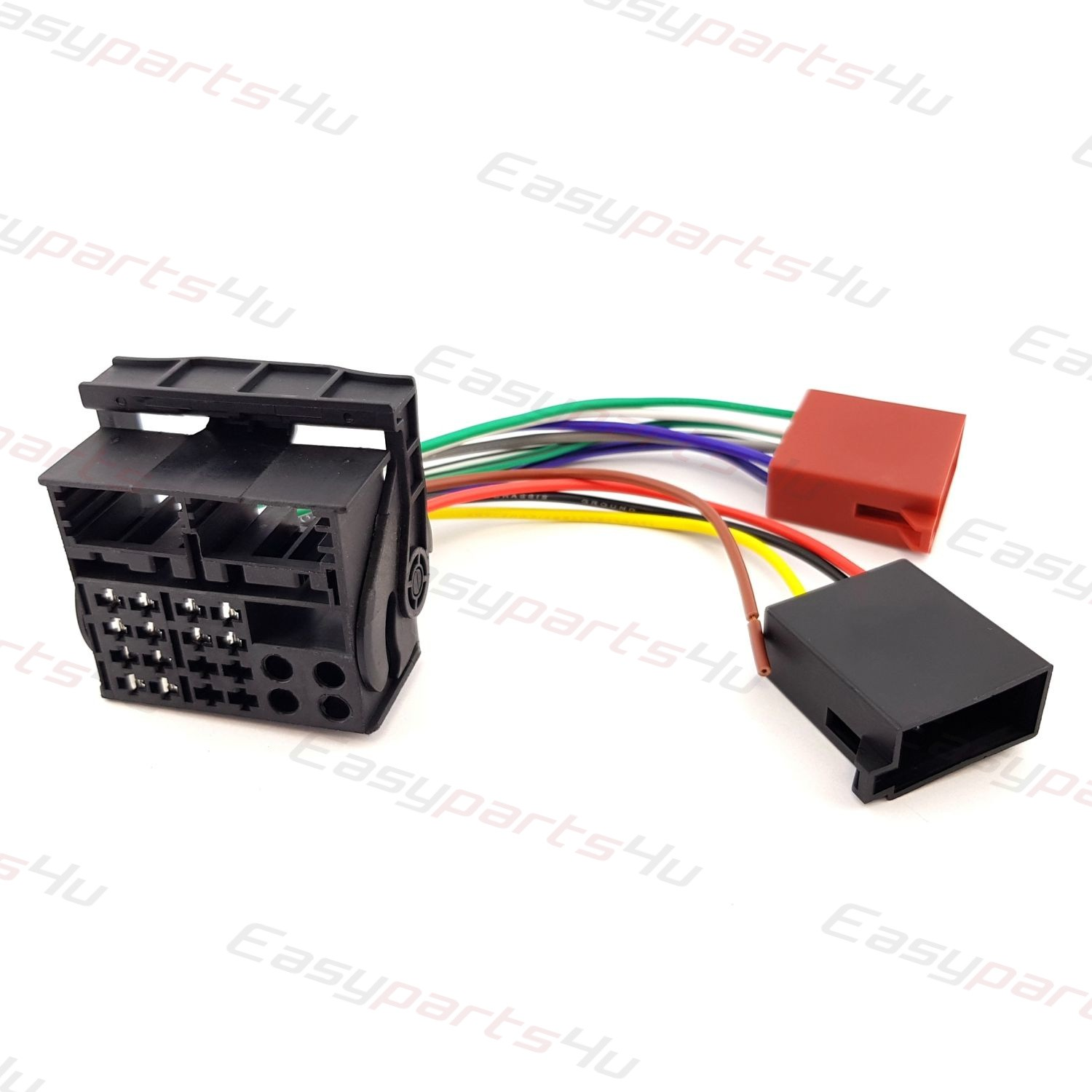 Vw Iso Adapter For Oem Radio Rcd 200 300 310 510 Wiring Harness Lead Headlight More Views