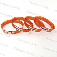 57,1 - 58,6mm centering rings (4pieces)
