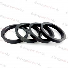 56,6 - 68,0mm centering rings (4pieces)