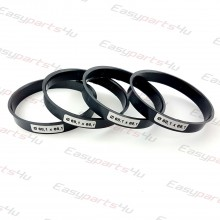 66,1 - 68,1mm centering rings (4pieces)