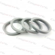 58,1 - 69,1mm centering rings (4pieces)