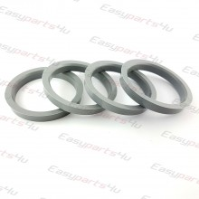 58,6 - 69,1mm centering rings (4pieces)
