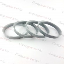 65,0 - 70,1mm centering rings (4pieces)