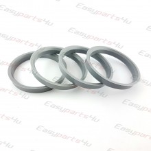 63,4 - 70,4mm centering rings (4pieces)