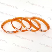 70,1 - 71,6mm centering rings (4pieces)