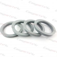 56,6 - 72,0mm centering rings (4pieces)