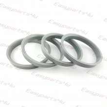 65,1 - 72,0mm centering rings (4pieces)