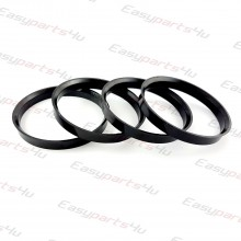 67,1 - 72,3mm centering rings (4pieces)