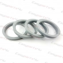 59,6 - 72,5mm centering rings (4pieces)