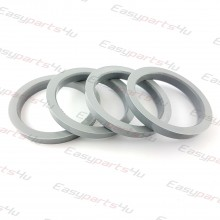 60,1 - 72,5mm centering rings (4pieces)