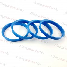 66,6 - 72,5mm centering rings (4pieces)