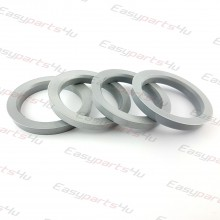 56,1 - 72,6mm centering rings (4pieces)