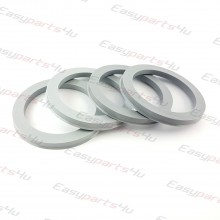 56,1 - 72,6mm/6mm centering rings (4pieces)