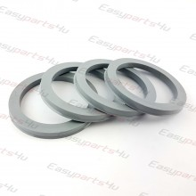 56,6 - 72,6mm/6mm centering rings (4pieces)