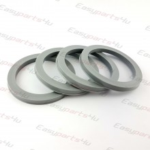 57,1 - 72,6mm/6mm centering rings (4pieces)