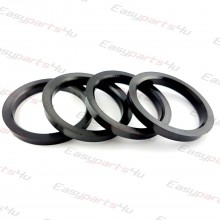 60,1 - 72,6mm centering rings (4pieces)
