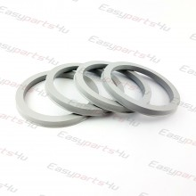 60,1 - 72,6mm/6mm centering rings (4pieces)