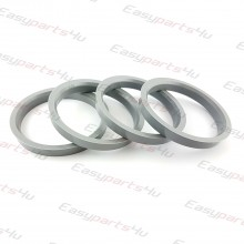 63,3 - 72,6mm centering rings (4pieces)