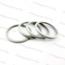 64,1 - 72,6mm/6mm centering rings (4pieces)