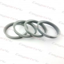 65,1 - 72,6mm centering rings (4pieces)