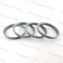 66,1 - 72,6mm centering rings (4pieces)