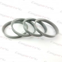 66,5 - 72,6mm centering rings (4pieces)