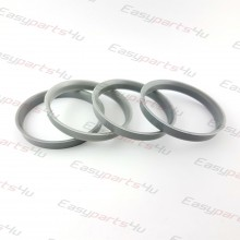 67,1 - 72,6mm centering rings (4pieces)