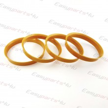 70,1 - 72,6mm centering rings (4pieces)