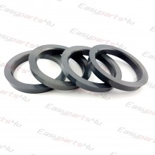 58,6 - 73,1mm centering rings (4pieces)