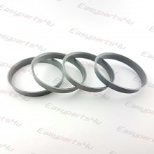 71,6 - 73,1mm centering rings (4pieces)