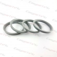 66,1 - 74,1mm centering rings (4pieces)