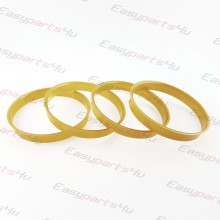72,6 - 75,1mm centering rings (4pieces)