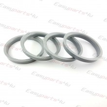 66,6 - 75,6mm centering rings (4pieces)
