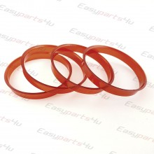 74,1 - 76,0mm centering rings (4pieces)