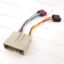 Ford Fiesta, Fusion, Expedition, Landrover Freelander ISO Lead Wiring Harness Radio adaptor