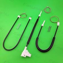 Skoda Octavia 1996-2004 Window Regulator cable kit SET for Front Left door