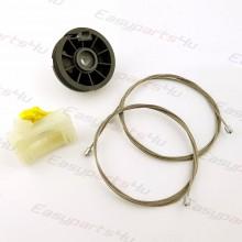 Opel / Vauxhall - Meriva Window Regulator Repair Clip set for Rear Left door