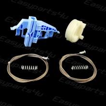 Fiat DOBLO Van 2011 Window Regulator Cable kit SET for Front Left door