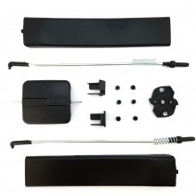 Vw Transporter T5 or T6 side door sliding window glass handle latch repair kit