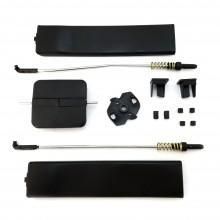 Vw Caddy 3 III side door sliding window glass handle latch repair kit