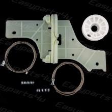 Peugeot 508 Window Regulator Wire Cable Repair clip Kit SET for Front Left door